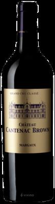 Chateau Cantenac Brown Margaux (Grand Cru Classe) 2018 (750 ml)