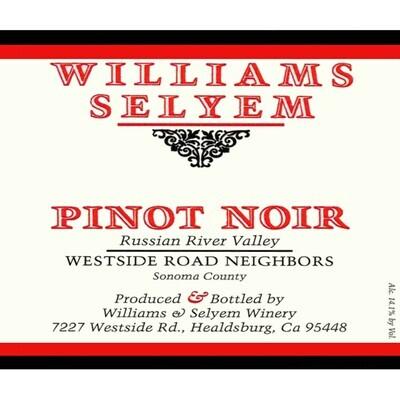 Williams Selyem Westside Road Neighbors Pinot Noir 2019 (750 ml)