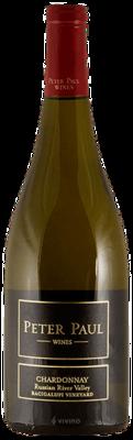 Peter Paul Bacigalupi Vineyard Chardonnay 2018 (750 ml)