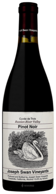 Joseph Swan Vineyards Cuvee de Trois Pinot Noir 2016 (750 ml)