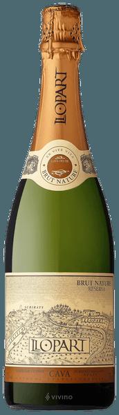 Llopart Cava Brut Reserva 2017 (750 ml)