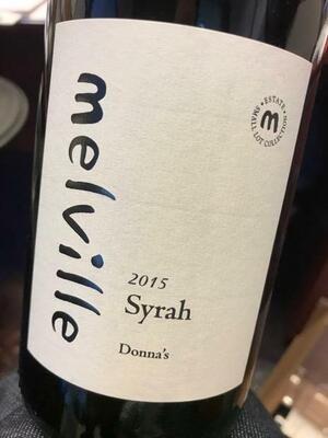 Melville Estate Donna's Syrah Santa Rita Hills 2015 (750 ml)