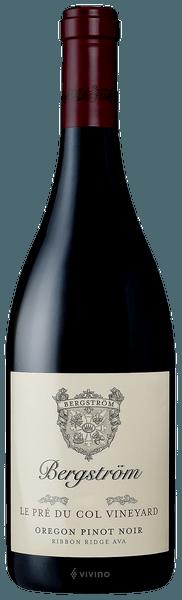 Bergstrom Pinot Noir le Pre du Col Vineyard 2017 (750 ml)