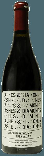 Ashes & Diamonds Cabernet Franc No.1 Napa Valley 2016 (750 ml)