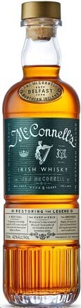 Mcconnell's Irish Whiskey 5 Year old