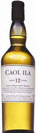 Caol Ila 12 Year Islay Single Malt Scotch
