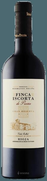 Hermanos Peciña Finca Iscorta Gran Reserva 2010 (750 ml)