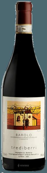 Trediberri Barolo 2017 (750 ml)
