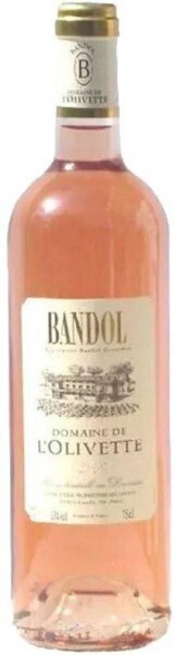 Domaine de l'Olivette Bandol Rose 750 ml