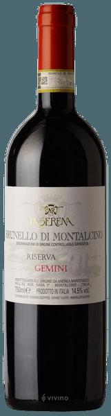 La Serena Gemini Brunello di Montalcino Riserva 2015 (750 ml)