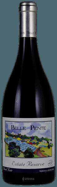 Belle Pente Pinot Noir Estate Reserve 2014 (750 ml)