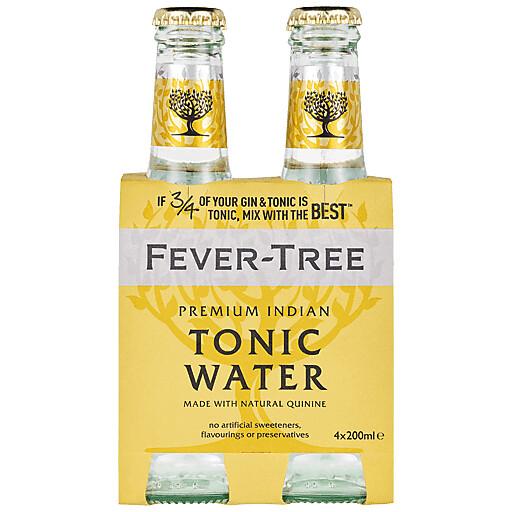 Fever Tree Tonic Water 4 pack bottles