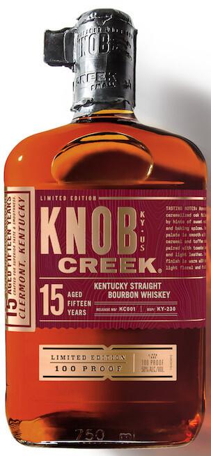 Knob Creek Bourbon 15 Year Whiskey 750 ml