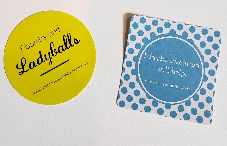 Ladyballs Sticker Set