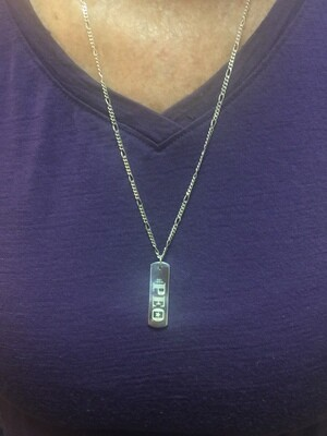 Sterling Silver P.E.O. Pendant by Chapter AE