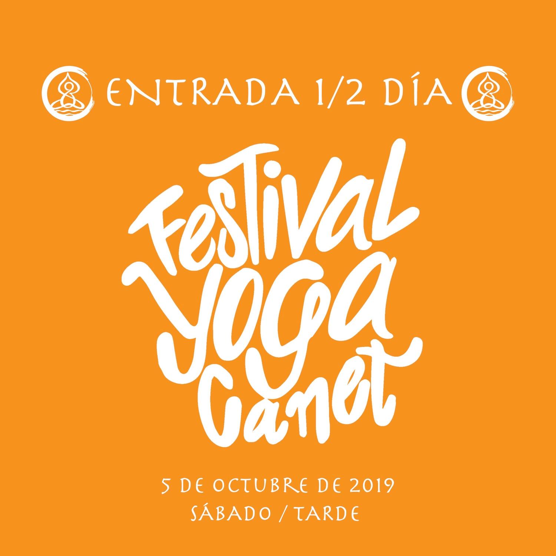 ENTRADA 1/2 DÍA FYC  SÁBADO TARDE  5 OCTUBRE 2019