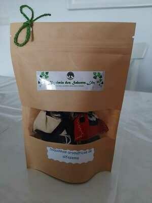 Saquinhos aromáticos de chá - ALQUIMIA DOS SABORES