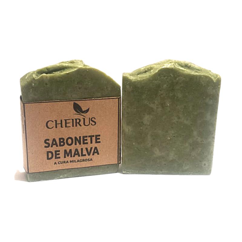 Sabonete Artesanal e Natural - 130g - CHEIRUS ARTESANAIS