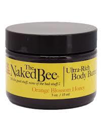 ORANGE BLOSSOM & HONEY - NAKED BEE BODY BUTTER 3oz
