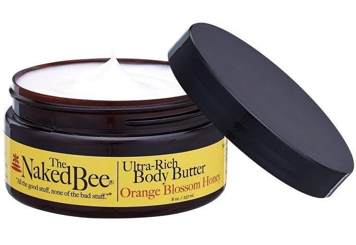 ORANGE BLOSSOM & HONEY - NAKED BEE BODY BUTTER 8oz
