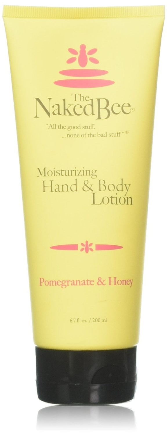 POMEGRANATE & HONEY - NAKED BEE LOTION 6.7oz