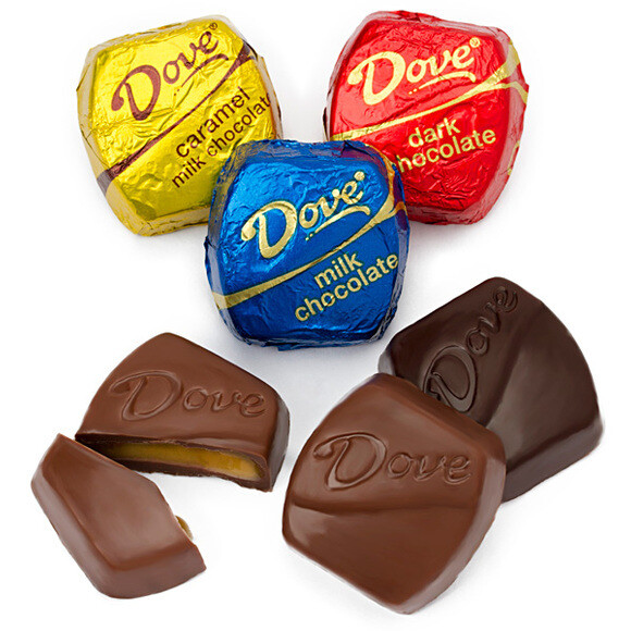 BULK CANDY DOVE CHOCOLATE - all flavors
