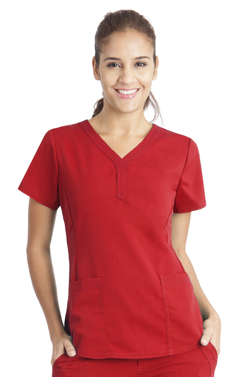 2167 JANE TOP S RED