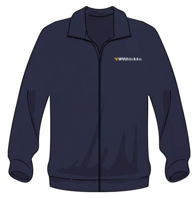 WVU MEDICINE FLEECE XS Navy