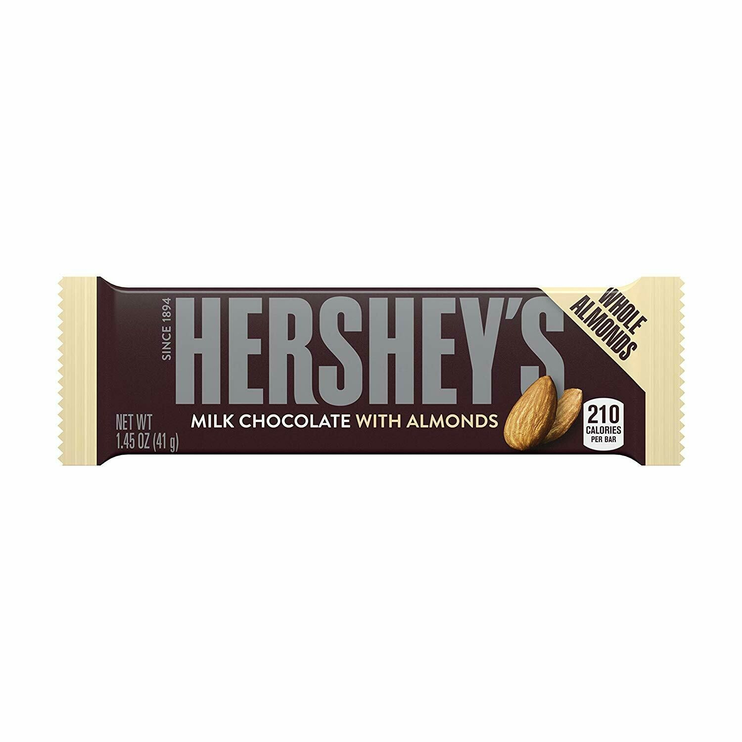 HERSHEY'S W/ALMONDS