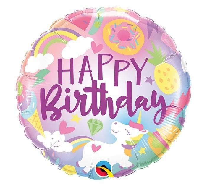18 - OMBRE BIRTHDAY UNICORN