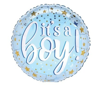 18  - IT'S A BOY WITH GOLD STARS