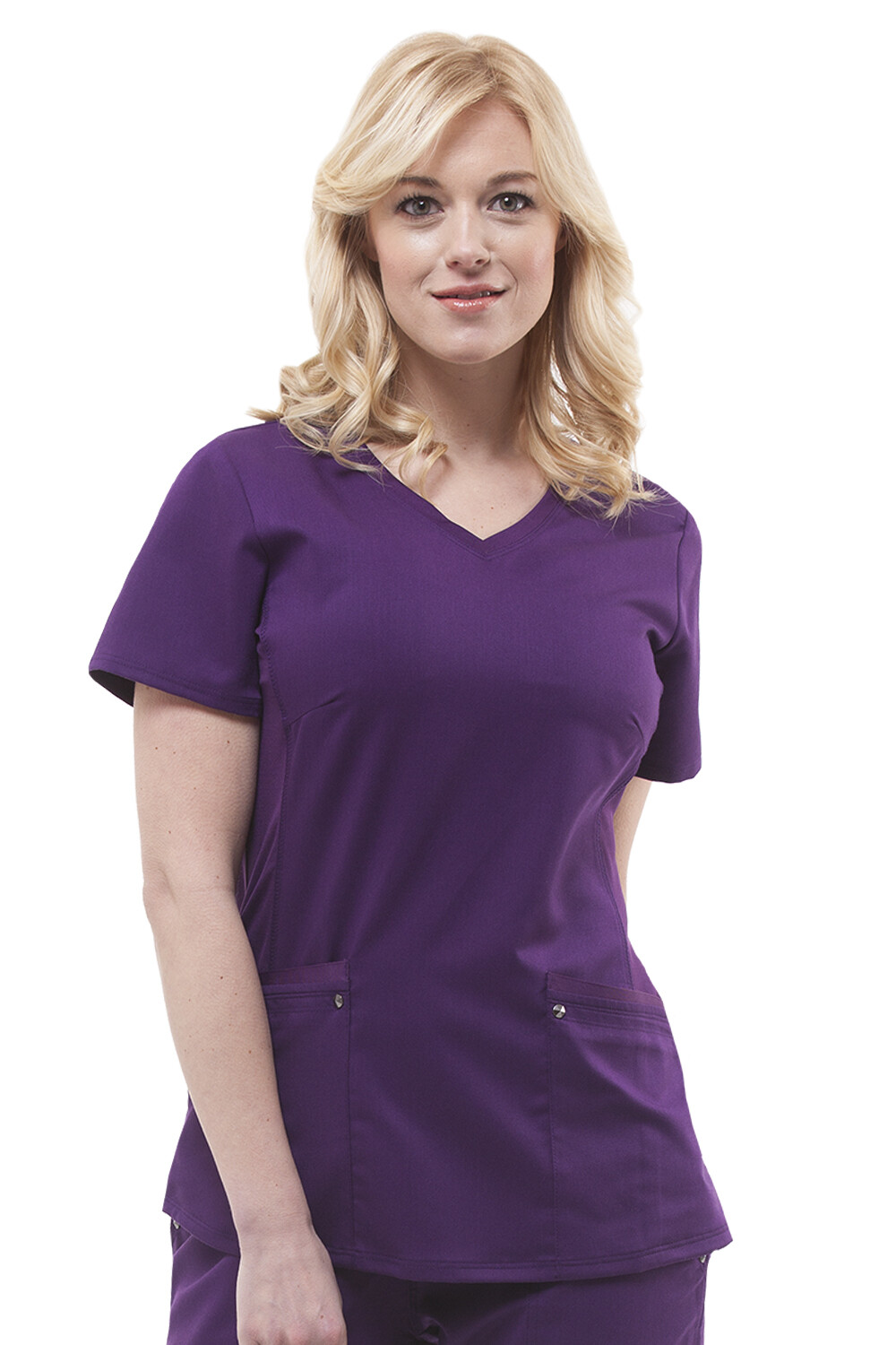 2245 JULIET TOP EGGPLANT 3XL