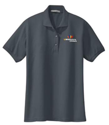 CHILDRENS HOSPITAL LADIES POLO #7396 GREY S