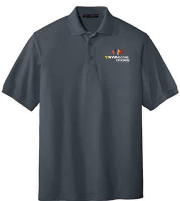 CHILDRENS HOSPITAL MEN'S POLO #7391 MEN'S M GREY