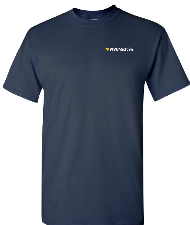 WVU MEDICINE S/S TEE PC61 2XL NAVY