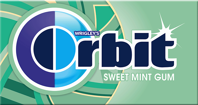 ORBIT GUM SWEETMINT