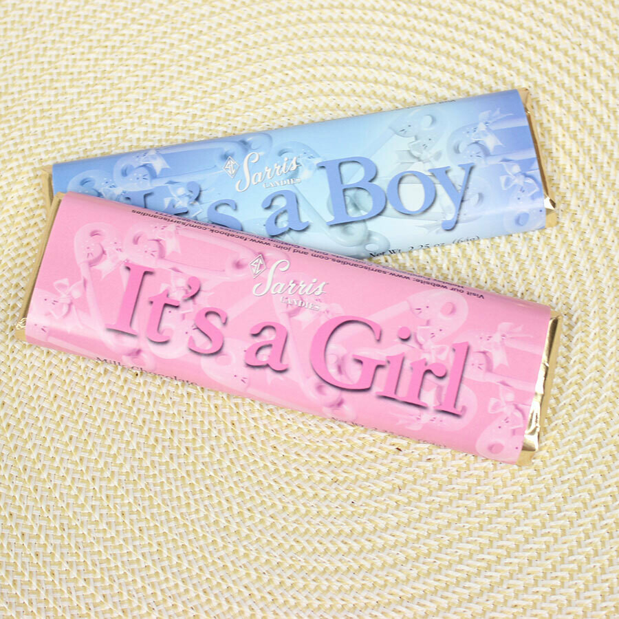 SARRIS CANDY IT'S A GIRL CANDY BAR