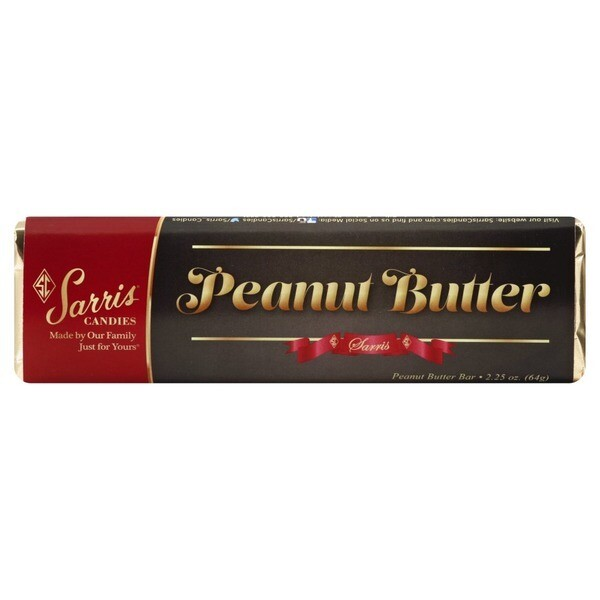 SARRIS CANDY PEANUT BUTTER CANDY BAR