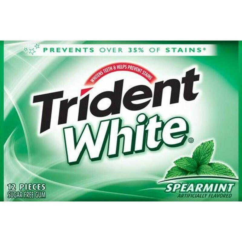 TRIDENT TRIDENT WHITE SPEARMINT