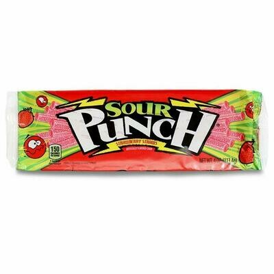 SOUR PUNCH STRAWBERRY STRAWS