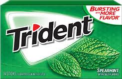 TRIDENT TRIDENT SPEARMINT