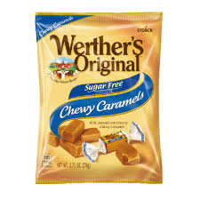 WERTHER'S ORIGINAL SF CHEWY CARAMEL