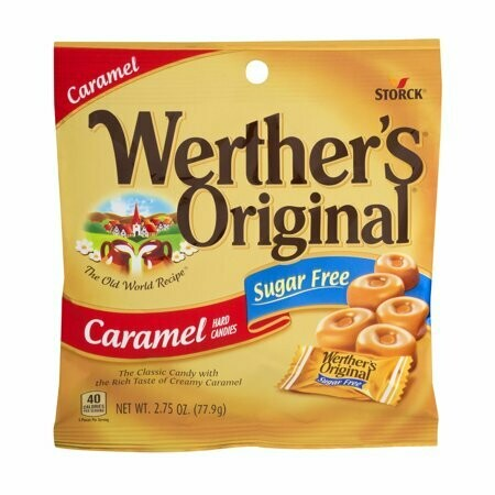 WERTHER'S ORIGINAL SUGAR FREE CARAMEL