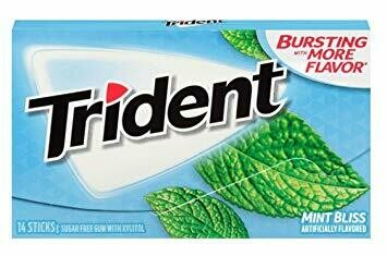 TRIDENT TRIDENT MINT BLISS