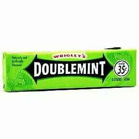 WRIGLEYS DOUBLEMINT 5 PC.