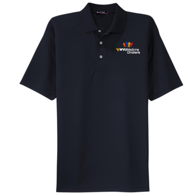 CHILDRENS HOSPITAL MEN'S POLO #7391 NAVY M MEN'S