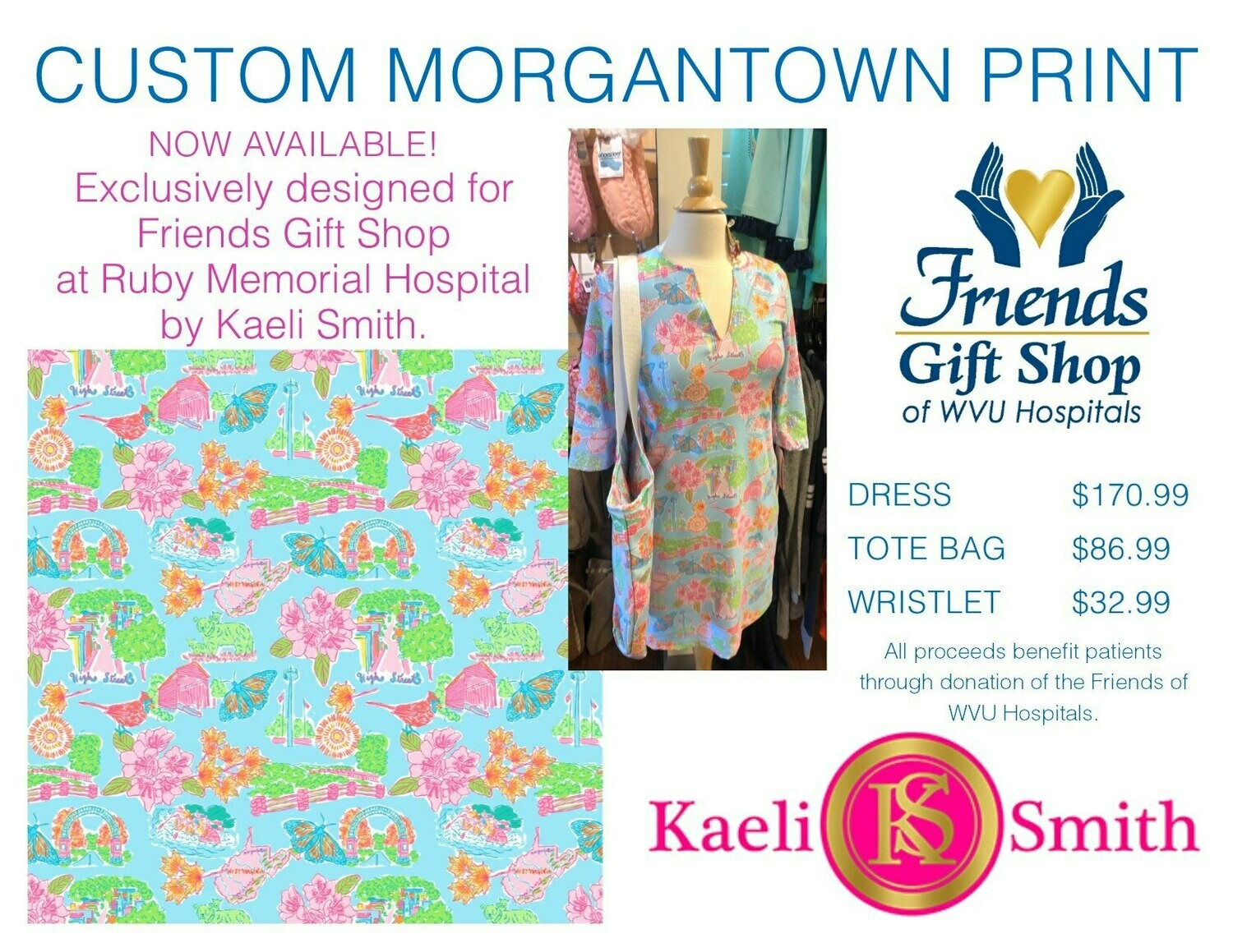 LUCA CUSTOM MORGANTOWN PRINT S