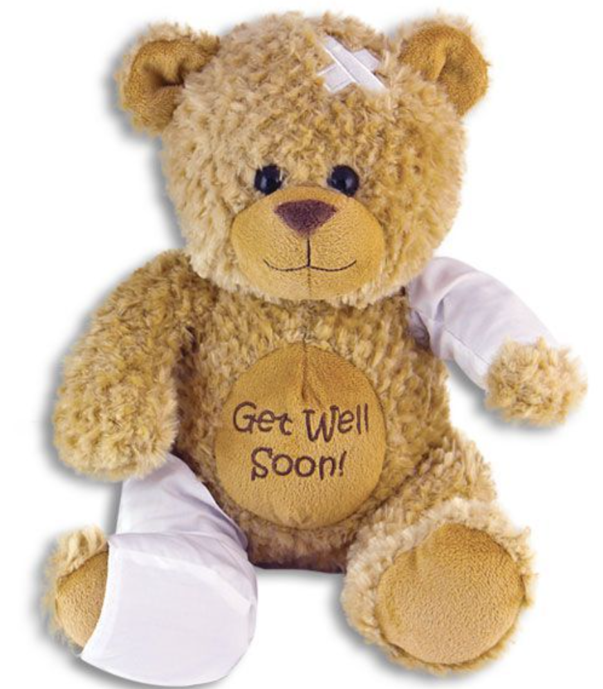 GET WELL SOON SIGNATURE BEAR