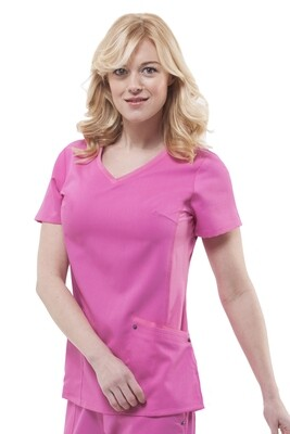 2245 JULIET TOP 2XL SHOCKING PINK