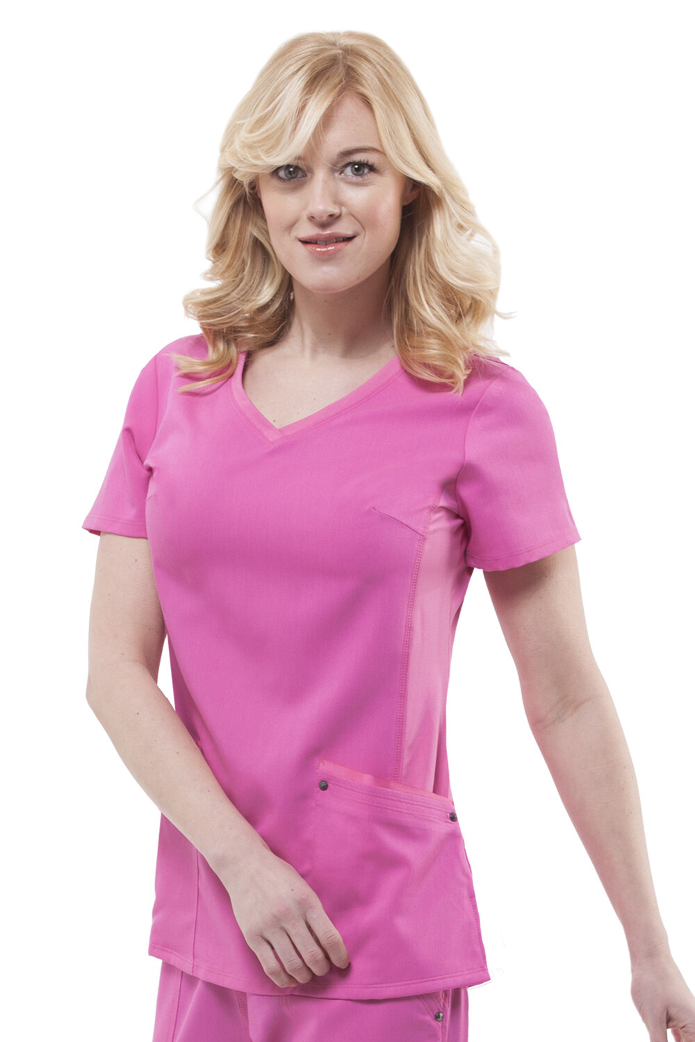 2245 JULIET TOP S SHOCKING PINK